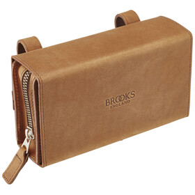 Brooks D-Shaped Saddle Bag aged